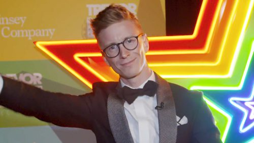 Tyler Oakley and AT&T Turn Up The Love at TrevorLIVE