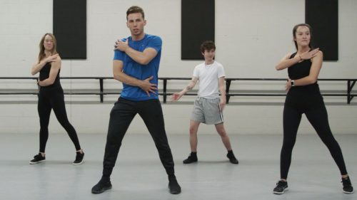 Charlie Bird and Miles McKenna in that AT&T Turn Up The Love series 'Young Heroes'
