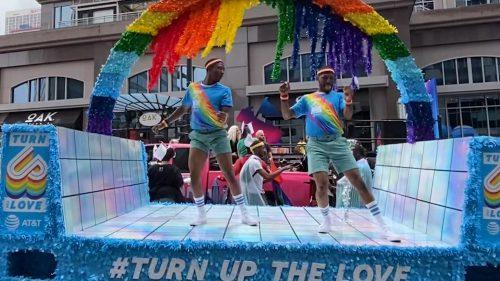 Atlanta Pride Float AT&T