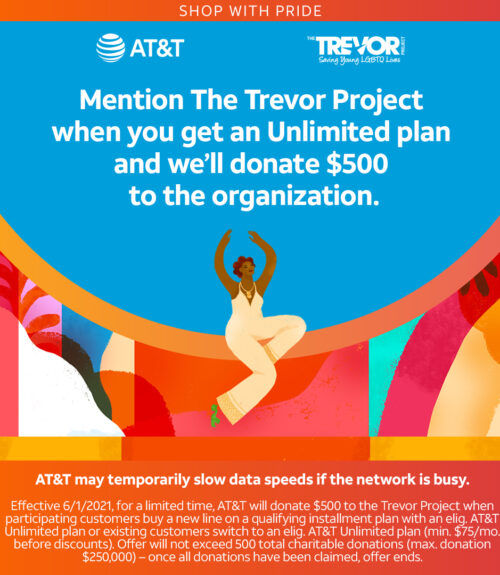 AT&T and The Trevor Project