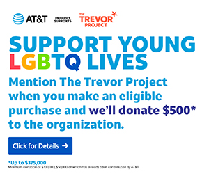 AT&T Offer Donation to The Trevor Project